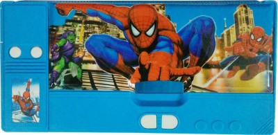 DreamBag Spiderman Print Art Plastic Pencil Box