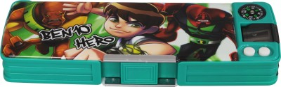Disney Ben 10 Cartoon Art Plastic Pencil Box