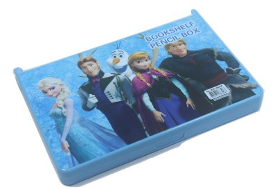 SILTASON SHAKTI BOOKSHELF CARTOON Art PLASTIC Pencil Box