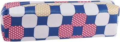 Saamarth Impex Student Check Art Cloth Pencil Box(Set of 1, Multicolor)