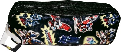 Ryka Transformer Cartoon Art Rexine Cloth Pencil Box