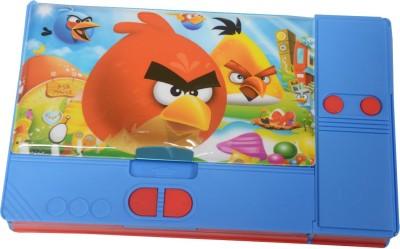 Priyankish Smart Kidz Angry Birds Art Plastic Pencil Box