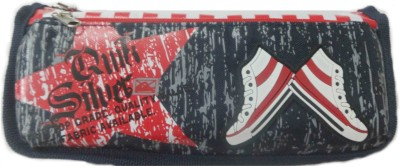 Aardee Shoe Deisgn Art Thick fabric Pencil Box