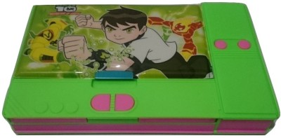 Gift Chachu New Jumbo Ben 10 Art Plastic Pencil Box