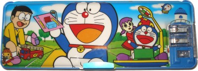 HINA Doraemon Character Art Plastic Pencil Box
