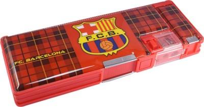 Saamarth Impex FC Barcelona Football Club Art Plastic Pencil Box