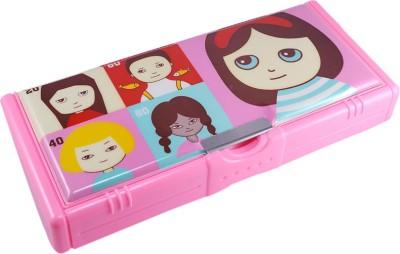 Saamarth Impex Pencil Box Printed Art Plastic Pencil Box