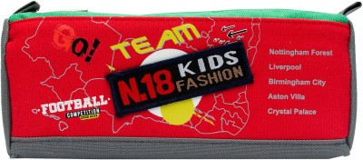 Pokizo Football Competition Kids Fashion Art High Quality Fabric Pencil Box