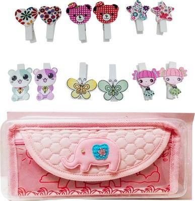 Priyankish Smart Kids Animal Art Denim Pencil Box