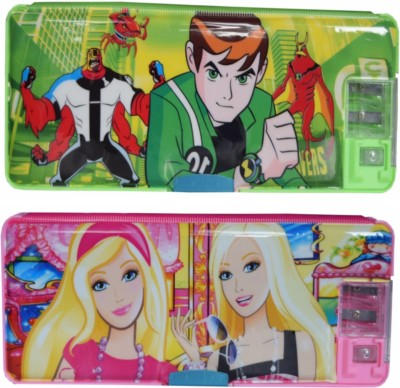 Tara Lifestyle Ben 10 Printed Art Plastic Pencil Boxes