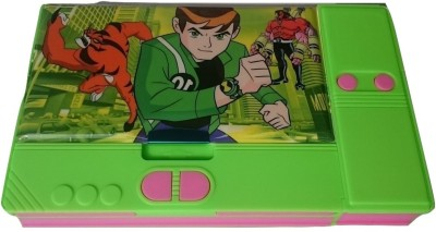Gift Chachu Jumbo Ben 10 Art Plastic Pencil Box
