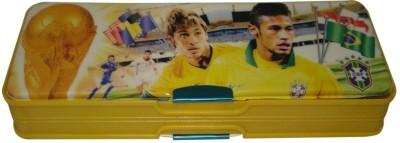 SSD Neymar Footbal Art Plastic Pencil Box