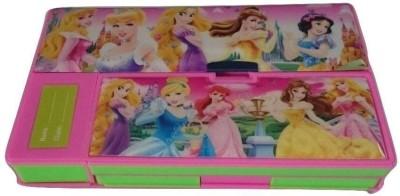 Shree Krishna Handicrafts And Gallery JUMBO Daisy Art Plastic Pencil Box
