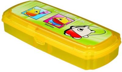 Neo Gold Leaf Fancy School Art Plastic Pencil Box