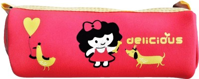 Stuff Jam Cute Cartoon Cartoon Character Print Art Cloth Pencil Box