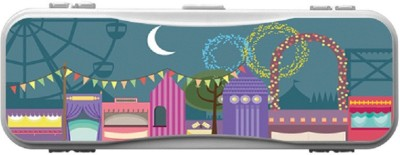 SKIN4GADGETS Skin4Gadgets THE CITY FAIR IN NIGHT Designer Campass Box PATTERN Art Plastic Pencil Box