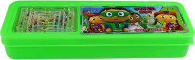 Saamarth Impex Super Boy Cartoon Art Plastic Pencil Box