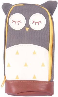 Enwraps Owl Series Bird Art Cloth Pencil Box