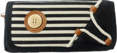 Aardee stripes Design Art Thick Fabric Pencil Box