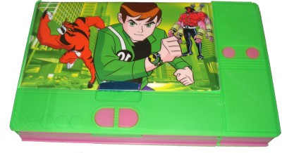 HINA Ben 10 Character Art Plastic Pencil Box