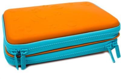 University of Oxford F.B Foot Ball Art Canvas Pencil Box(Set of 1, Orange)