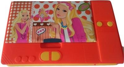 Gift Chachu Jumbo Princess Art Plastic Pencil Box(Set of 1, Red)