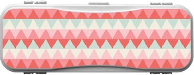 SKIN4GADGETS Skin4Gadgets CHEVRON PATTERN Designer Campass Box PATTERN Art Plastic Pencil Box