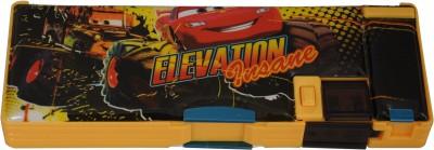 Disney CARS Cartoon Art Plastic Pencil Box