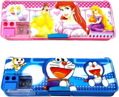 FCS Most Wanted Pencil Box Cartoon Art Plastic Pencil Boxes