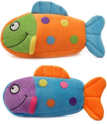 Artist Fish Fish Art cloth Pencil Boxes