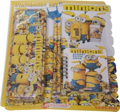 Priyankish Smart Kidz Minnions Art Metal Pencil Box