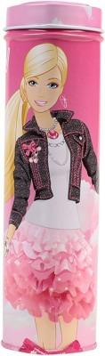 HM International Barbie Metal Pencil Box