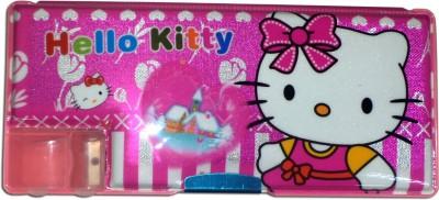 Karta Hello Kitty Big Shine With Single Sharpner Art Plastic Pencil Box