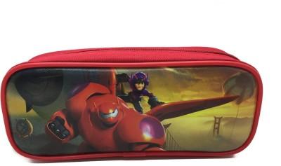 Disney Big Hero 6 Character Art Polyester Pencil Boxes