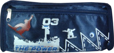 Xiao zhi xiong Glitter The Power Art Cloth Pencil Box