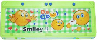 DreamBag Smiley Print Art Plastic Pencil Box