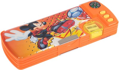 HM International Disney Mickey Mouse and Friends Plastic Pencil Box