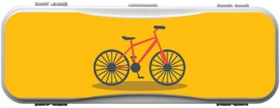 SKIN4GADGETS Skin4Gadgets BICYCLE Designer Campass Box PATTERN Art Plastic Pencil Box