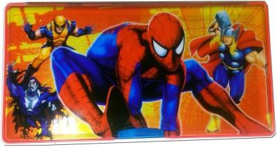 Karta Spider Man Big With Sharpner Art Plastic Pencil Box