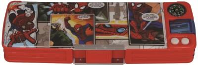 Marvel HM Spiderman Character Print Art Plastic Pencil Box