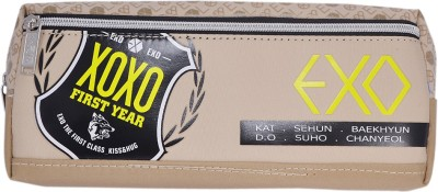 Saamarth Impex Words XOXO Print Art Clothes Pencil Box