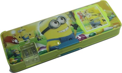 SILTASON SHAKTI DESPICABLE 2 CARTOON CHARACTER Art PLASTIC Pencil Box
