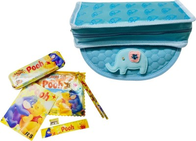 Priyankish Smart Kids Cartoon Art Denim Pencil Boxes