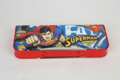 Warner Bros. Superman Plastic Pencil Box