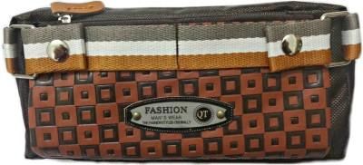 Aardee Checks Design Art Thick Fabric Pencil Box