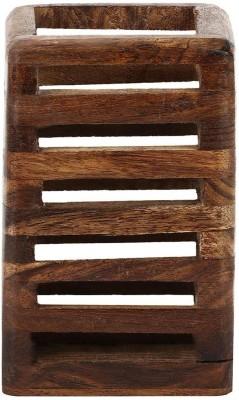 Derien corporate hand made Art wood Pencil Box