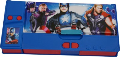 Priyankish Smart Kidz Avengers Art Plastic Pencil Box
