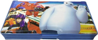 MVEshoppers BIG-067 special big penguin art Art plastic Pencil Box