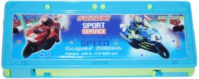 DreamBag Suzuki Print Art Plastic Pencil Box