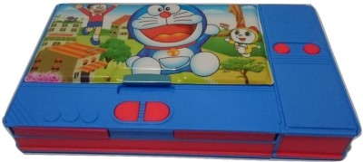 Gift Chachu Jumbo Doraemon Art Plastic Pencil Box